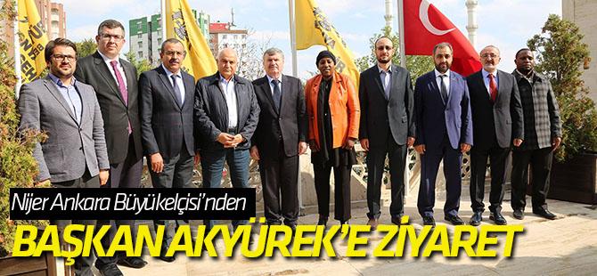 Rencontre avec le maire central de Konya.