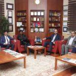 Visite au Président de Müsiad (Association des hommes d'affaires et industrieles Indépendants).