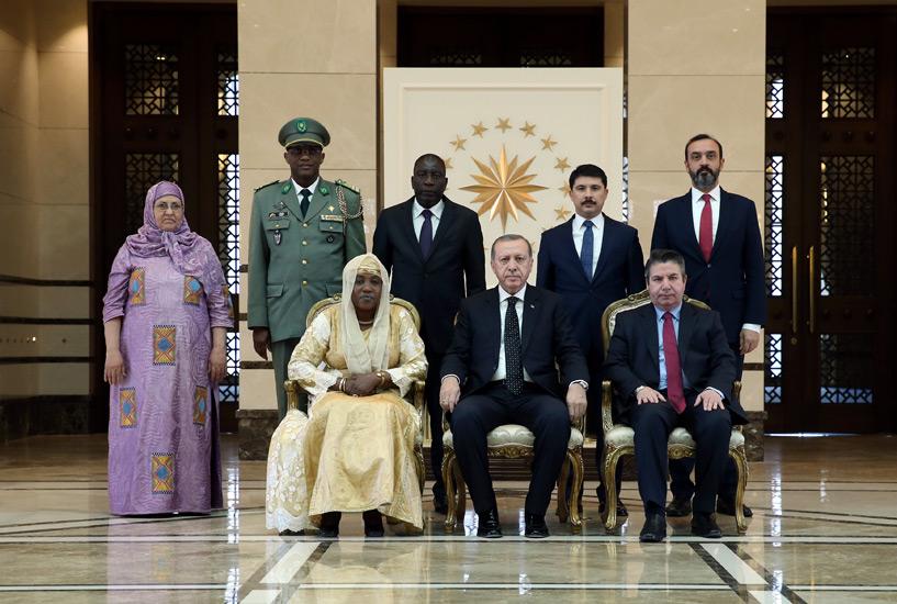 Présentation des lettres de Créance de l'Ambassadeur du Niger en Turquie